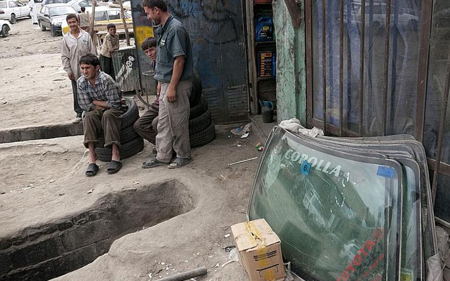 The Toyota Corolla is so ubiquitous in Kabul that most mechanics work only on them. Other cars are available, dealers say, but good luck getting parts.