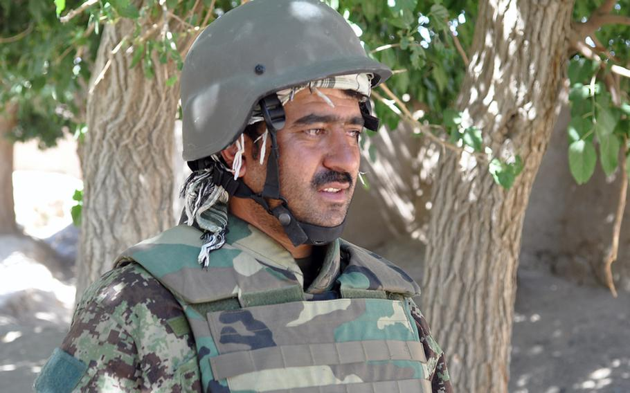 Afghan Capt. Safiullah Stankakai said frustration lingers among troops over Col. Mohammad Wasil, whose alleged misconduct included skimming wages from low-ranking soldiers. ''We have had a lot of problems, and some of the soldiers are angry,'' he said.