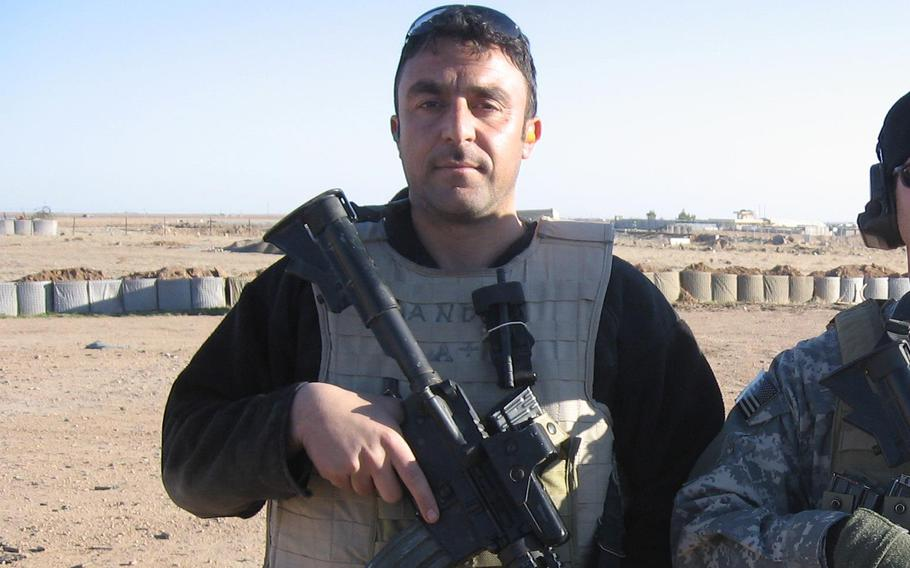 Iraqi linguist Barakat Ali Bashar was killed by a suicide bomber while supporting Army Special Forces in September 2007.