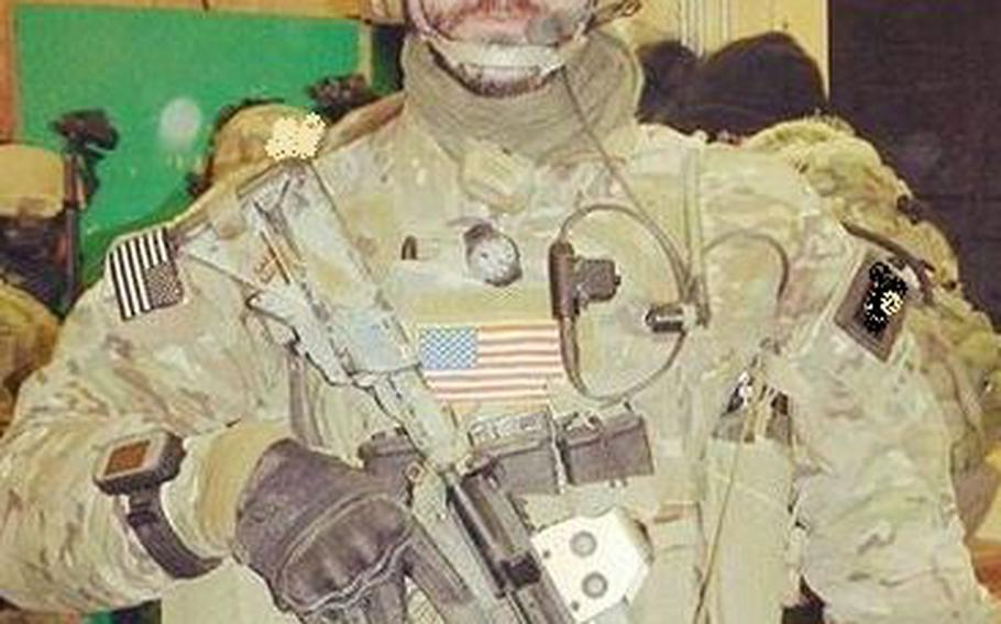Former Army Special Forces medic Jay McBride says he owes his life to Iraqi linguist Barakat Ali Bashar, who was killed in action in September 2007.