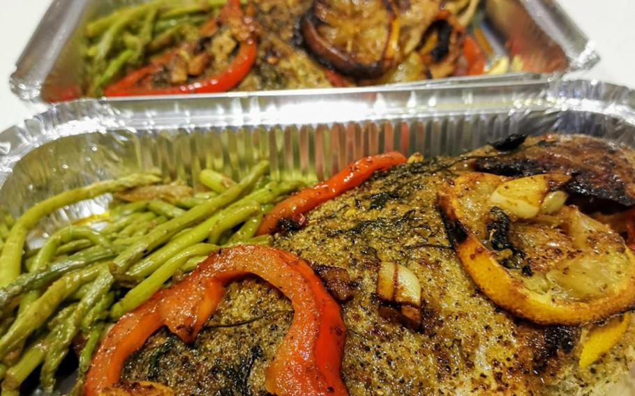 Soul food dish prepared by Chief Petty Officer Markeeta Hardin, also known as Chef Keeta, stationed at Naval Support Activity Bahrain.   Courtesy Keeta Hardin