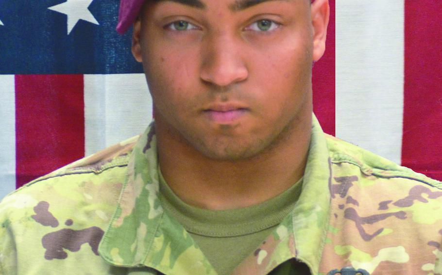 Army Spc. Michael Isaiah Nance, 24, of Chicago, died July 29, 2019, after being shot by an Afghan soldier at a military camp in southern Uruzgan province.