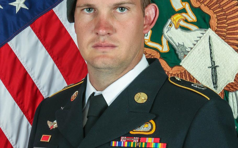 Army Sgt. 1st Class Dustin Ard, 31, died of wounds received in combat in southern Zabul province on Aug. 29, 2019.