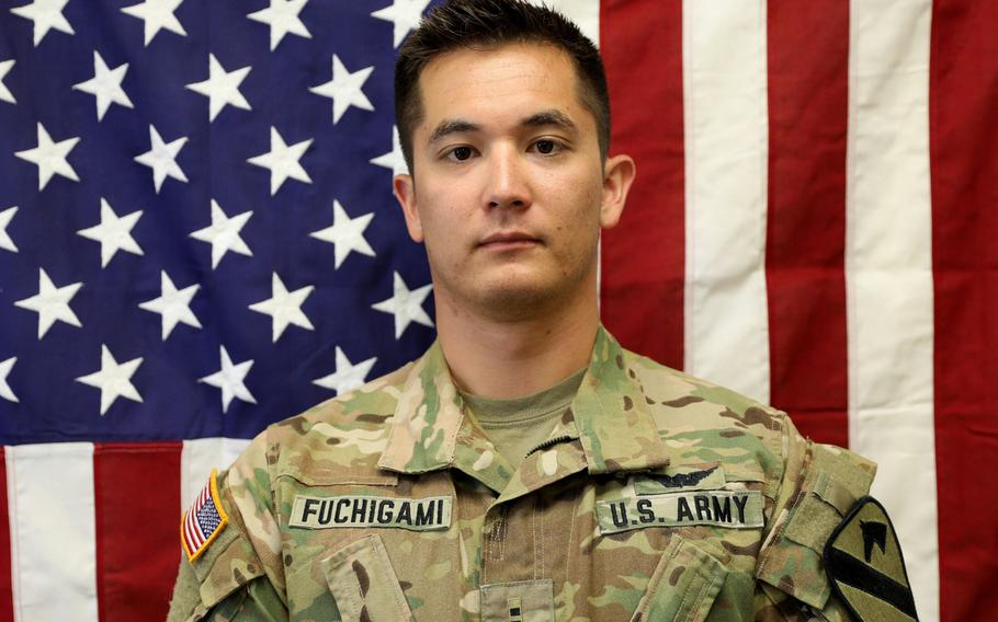 Chief Warrant Officer 2 Kirk T. Fuchigami Jr. was killed in a helicopter crash in Afghanistan, Nov. 20, 2019.