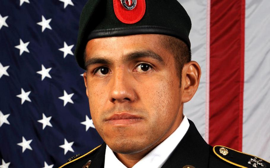Army Master Sgt. Jose J. Gonzalez, 35, of La Puente, Calif., was killed during a raid alongside Afghan special forces in southern Faryab province on Aug. 21, 2019.