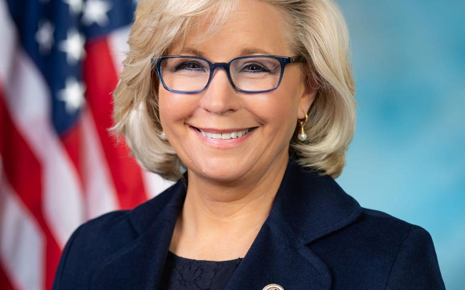 Liz Cheney, R-Wyo., is part of a bipartisan group of lawmakers behind a bill that would require Congress to oversee further drawdowns of American troops from Afghanistan.