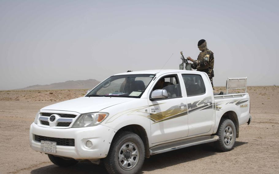 A U.S. military contractor stole more than $300,000 worth of government property from Kandahar Airfield, Afghanistan, in 2015. Among the items stolen were a Toyota Hilux pickup truck, a Toyota van and various vehicle parts.