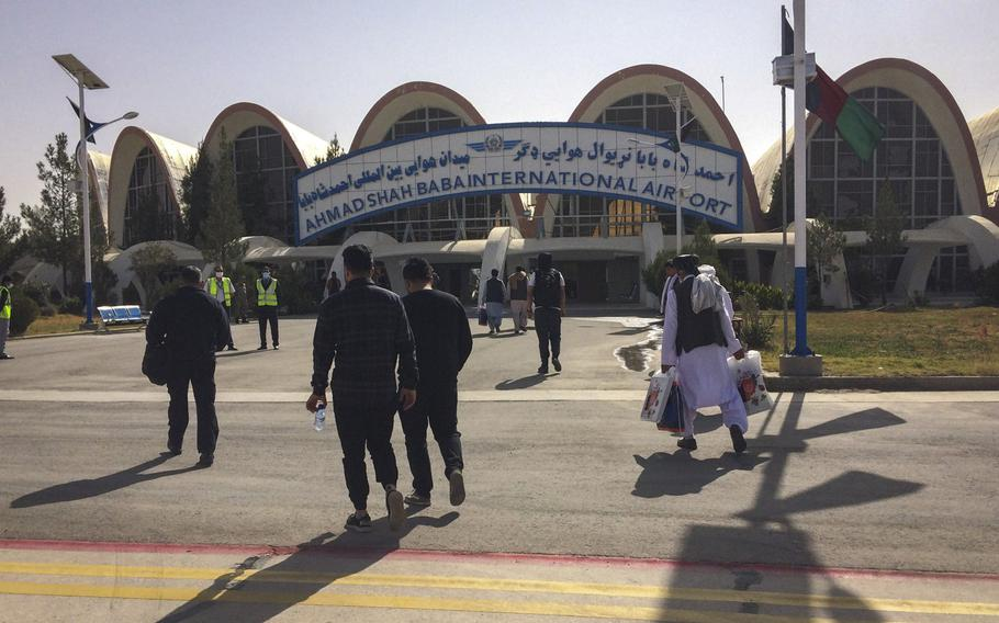 Afghans are supposed to take control of Ahmad Shah Baba International Airport in Kandahar, Afghanistan, from U.S. and NATO troops when they leave the country, but officials say the locals are not up to the job.