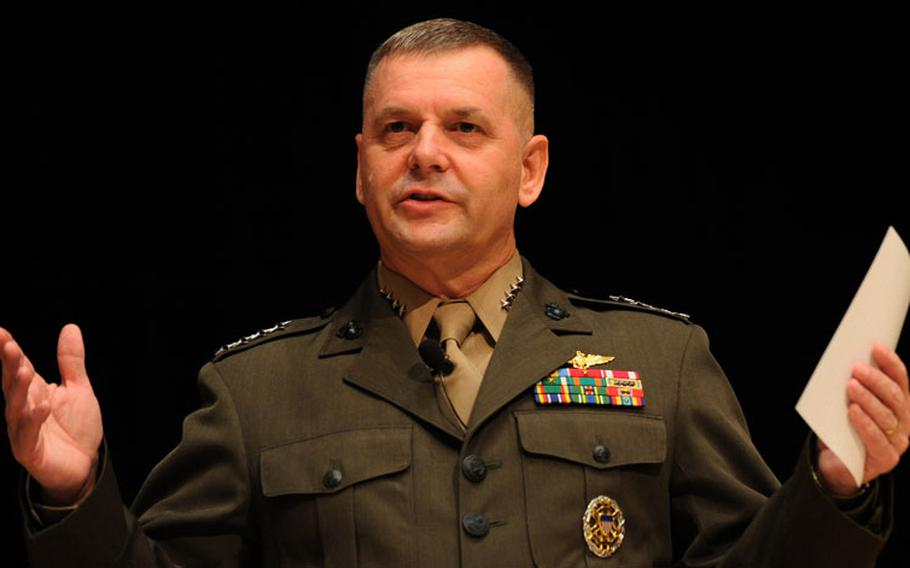 Retired Gen. James Cartwright, the former vice chairman of the Joint Chiefs of Staff, in an undated photo.