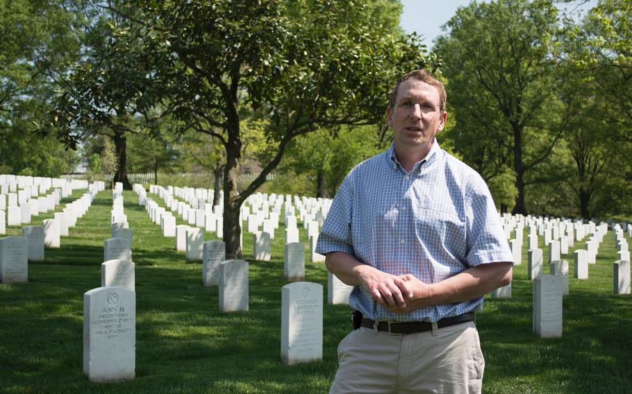Steve Van Hoven chats with Stars and Stripes about Arlington National Cemetery.