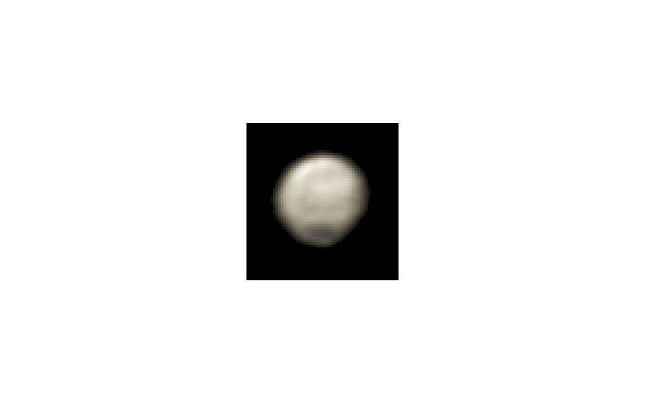 """New Horizons snapped a few more """"faces"""" of Pluto as it approached on June 11, 2015."""
