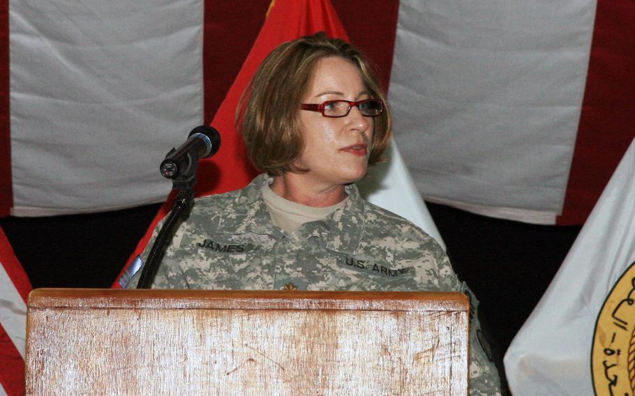 National Guard Lt. Col. Teresa James.