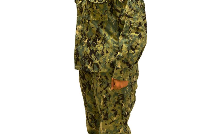 The Navy announced this week that it will transition to the green Type III uniform as its primary shore working uniform. It replaces the blue camouflage Type I uniform that was unpopular with sailors.