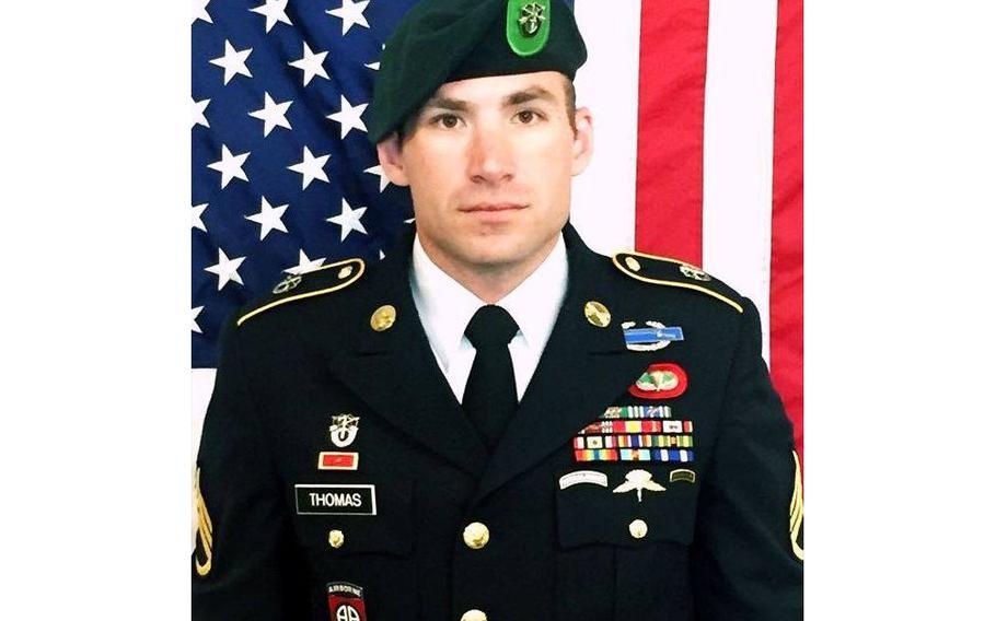 Staff Sgt. Adam S. Thomas