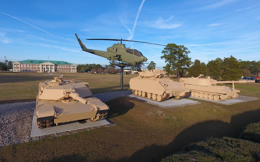 3rd Infantry Division headquarters at Fort Stewart, Georgia, January 6, 2017.