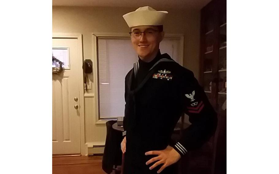 Petty Officer Christopher Clavin, a U.S. Navy sailor from Rhode Island, remains missing two days after being reported overboard from a guided-missile cruiser off the coast of North Carolina.