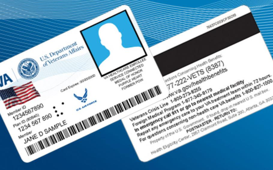 Veterans can now go online and order their new identification cards.