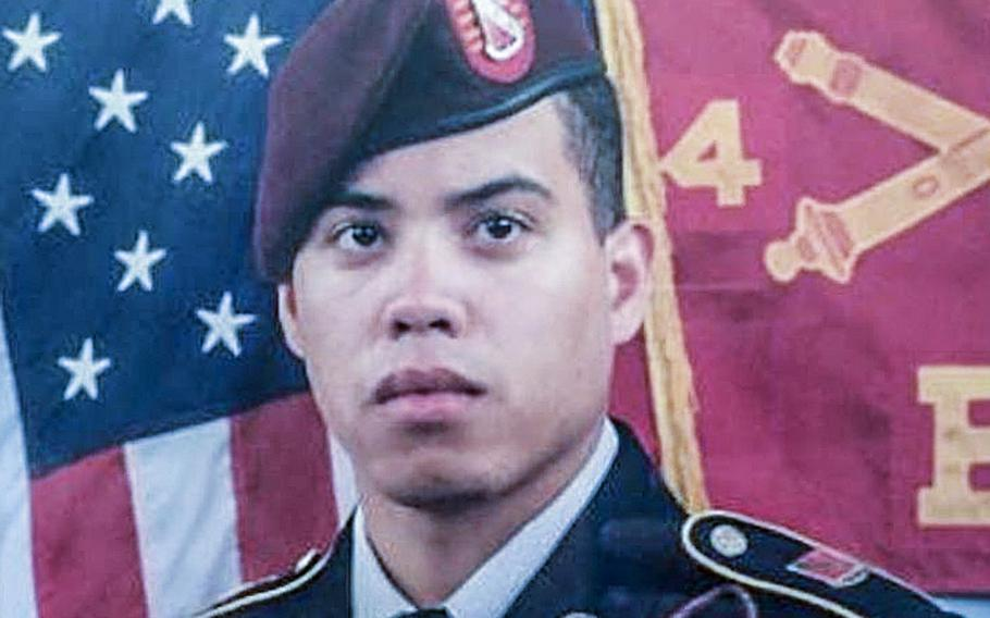 Carl Seeman, a Fort Bragg-based soldier has been listed as missing.