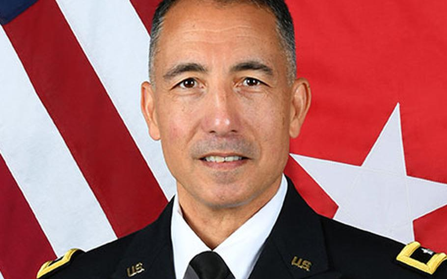 Maj. Gen. Stephen J. Maranian was suspended amid an investigation into undisclosed allegations against him, the Army announced Tuesday.
