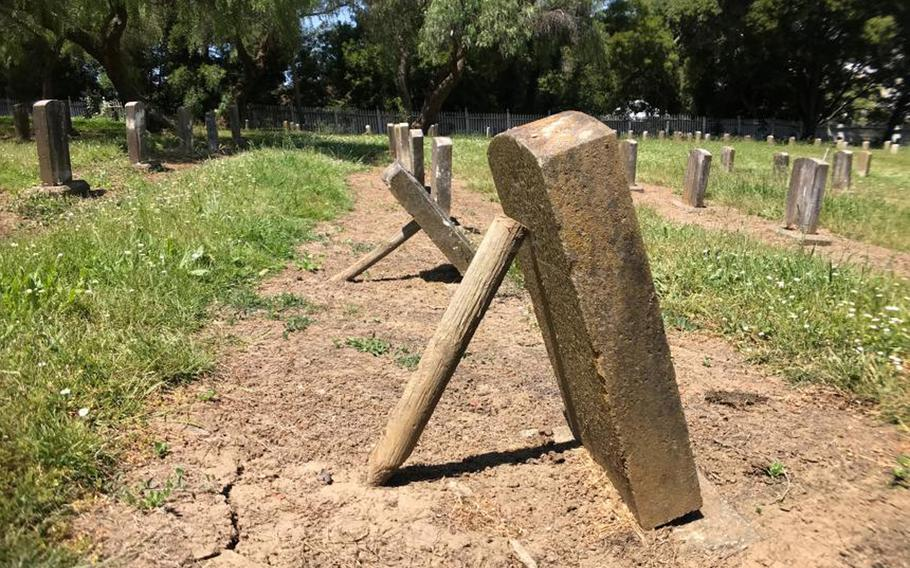 The Navy transferred the Mare Island Naval Shipyard — including the cemetery — to the city of Vallejo after the shipyard closed in 1996. While volunteers have labored to maintain the site, it has fallen into disrepair in the intervening decades.