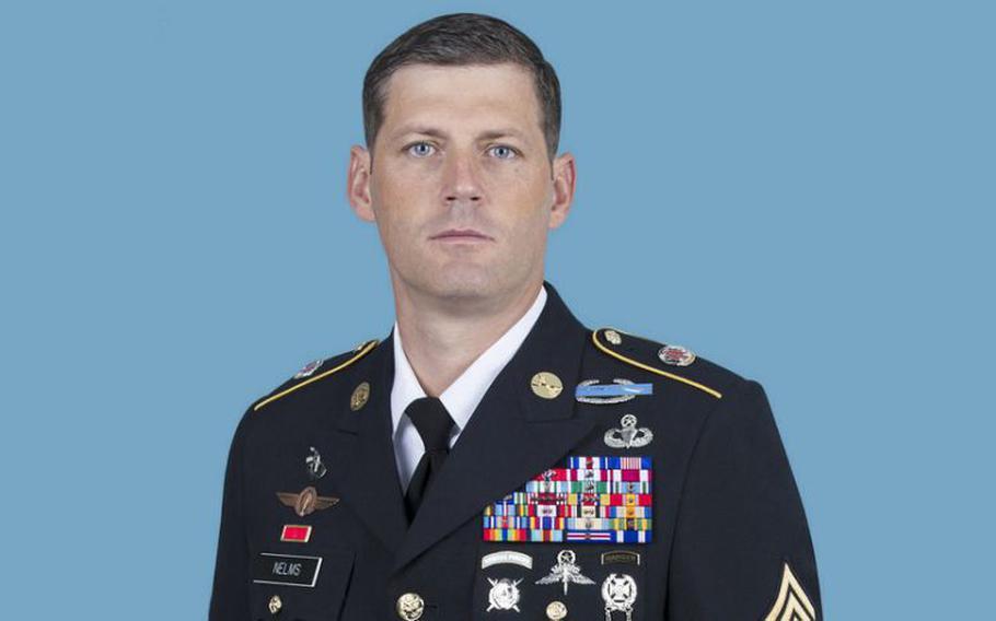 Sgt. Maj. Christopher Nelms