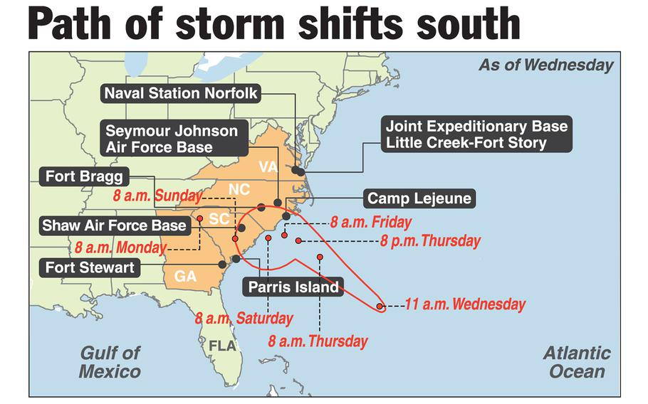 SOURCES: NOAA, Google Maps, AP