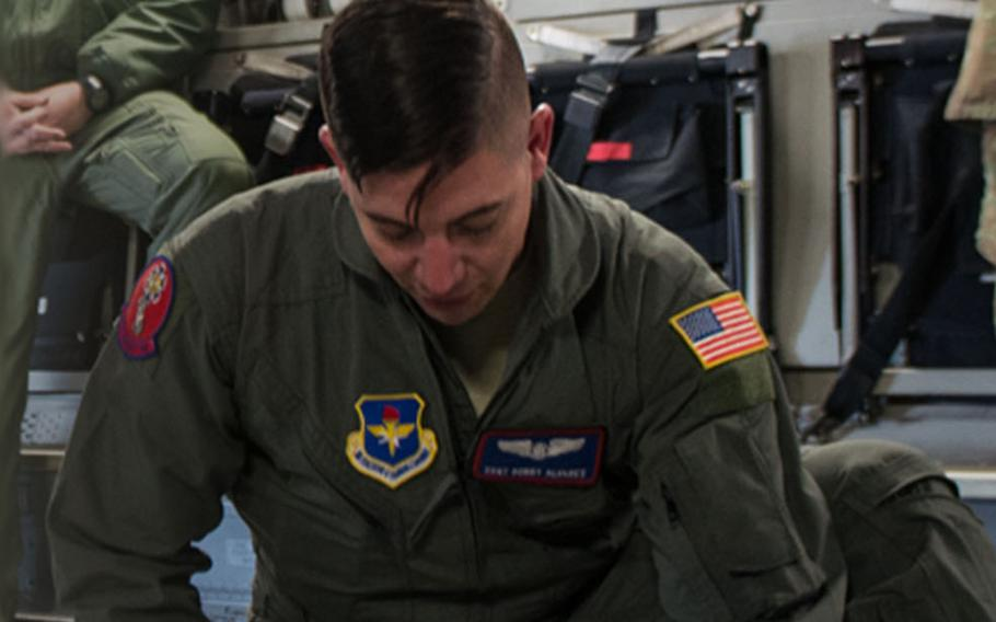Staff Sgt. Robert Alvarez was a loadmaster assigned to the 58th Airlift Squadron.
