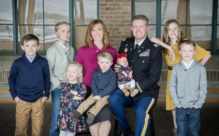 Maj. Brent Taylor, who was the mayor of North Ogden, Utah, leaves behind a wife and seven children.