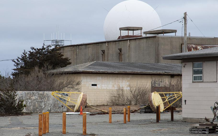 The former North Truro Air Force Station on Cape Cod, in January, 2019.