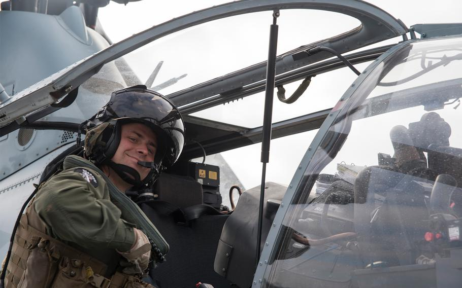 Marine Capt. Travis Brannon was one of the two pilots killed during a AH-1Z Viper helicopter crash in Yuma, Ariz. on March 30, 2019.