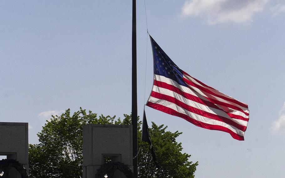 Memorial Day at the National World War II Memorial in Washington, D.C., May 27, 2019.