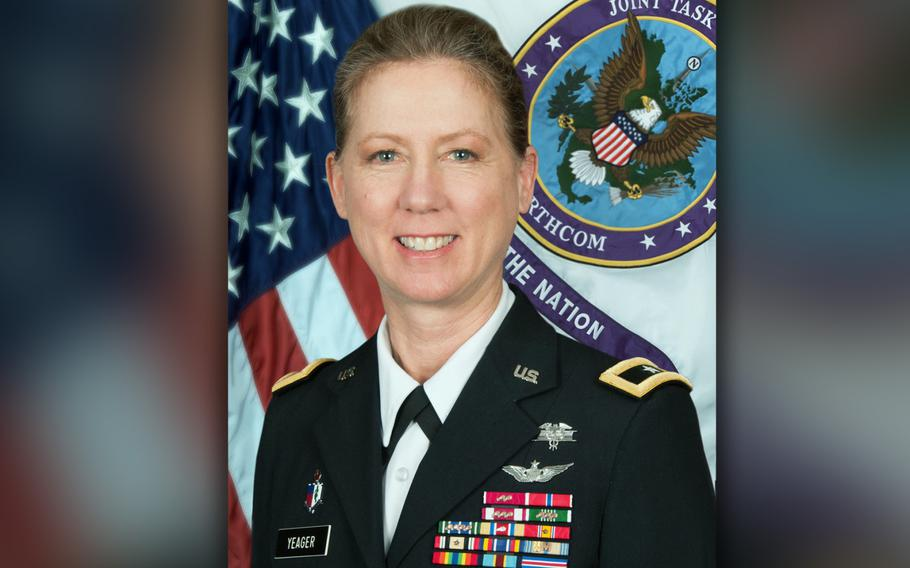 Brig. Gen. Laura Yeager will take command of the California National Guard's 40th Infantry Division on on June 29, 2019.