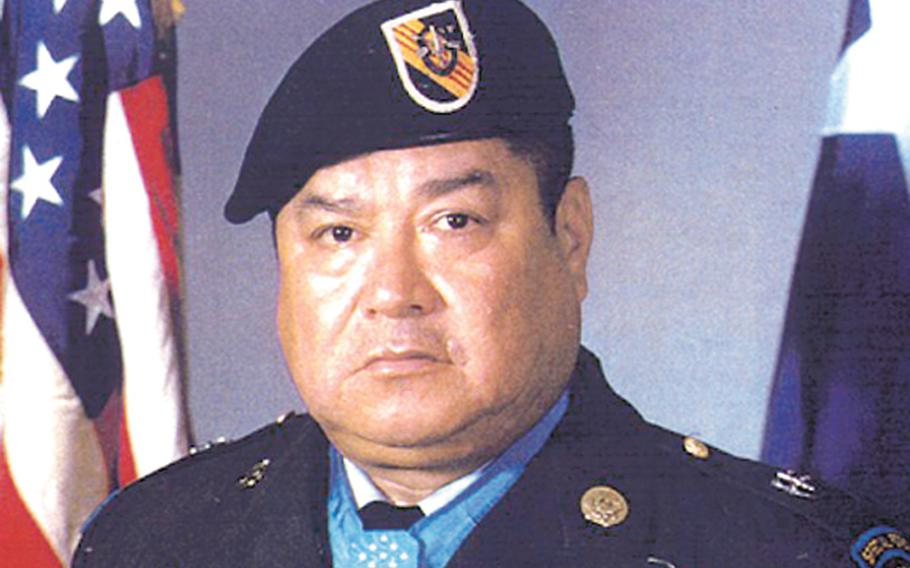 Medal of Honor awardee Master Sgt. Roy Benavidez. A Texas-based Hispanic group and state veterans are fighting to have Fort Hood renamed after Benavidez