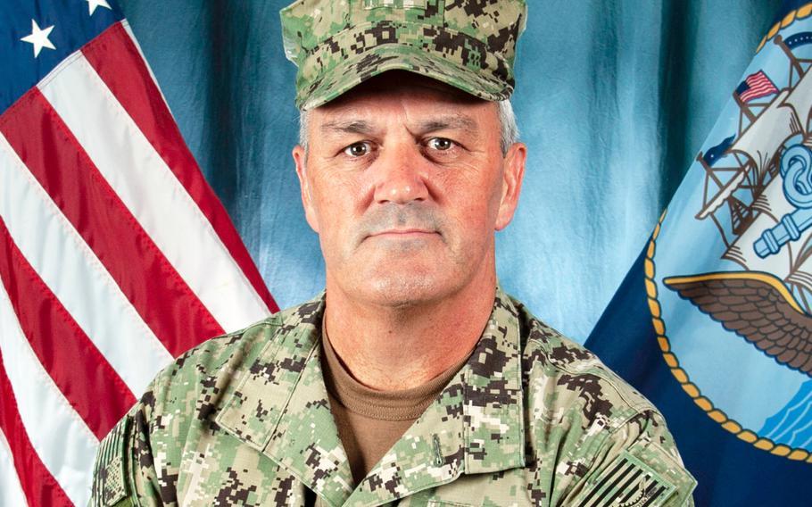 Rear Adm. Collin P. Green, commander of the Naval Special Warfare Command.