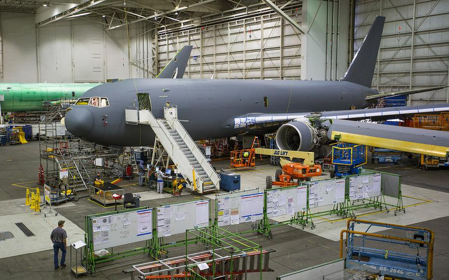 The U.S. Air Force has indefinitely barred the Boeing-built KC-46 from carrying cargo and passengers.