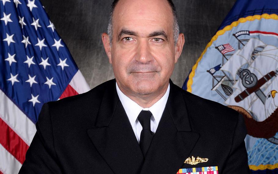 Vice Adm. Charles Richard will be promoted to four-star admiral when he takes the helm of the U.S. Strategic Command.