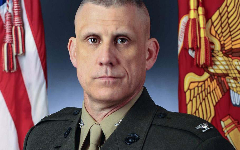 Col. Lawrence F. Miller, former commanding officer of the Marine Corps Wounded Warrior Regiment.