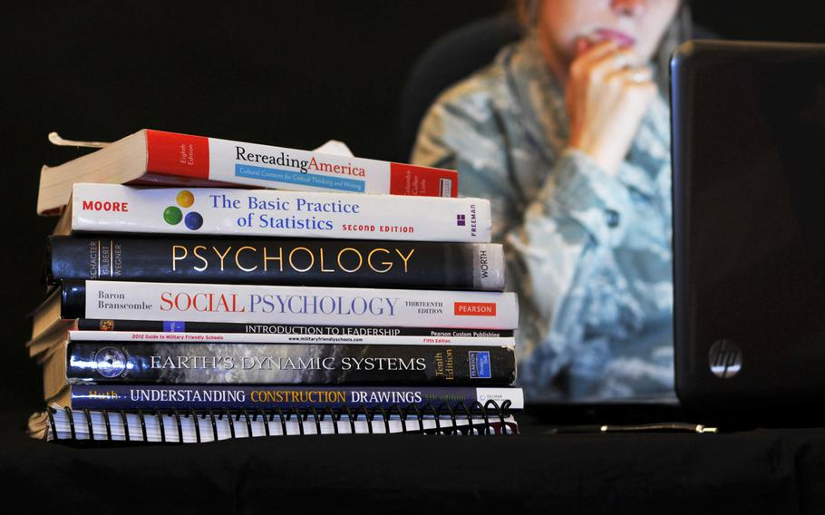 A private university in New Jersey must pay the federal government almost $5 million to settle allegations that it defrauded the Department of Veterans Affairs by overcharging veterans for substandard online courses.