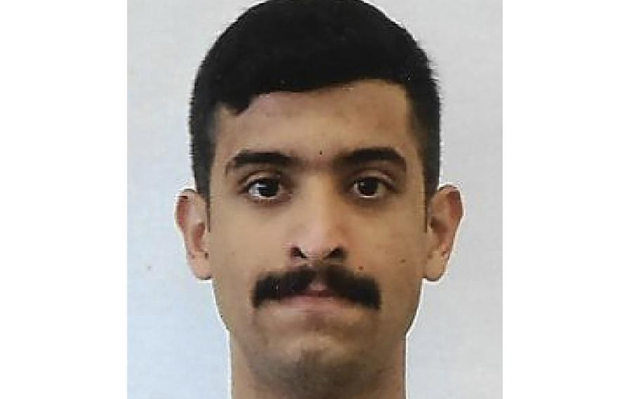 An undated file photo provided by the FBI shows Mohammed Alshamrani.