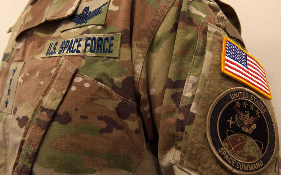 U.S. Space Force, the nation's newest military branch revealed its name tapes, which attach to the uniform on Twitter.