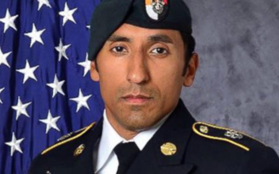 Army Staff Sgt. Logan Melgar