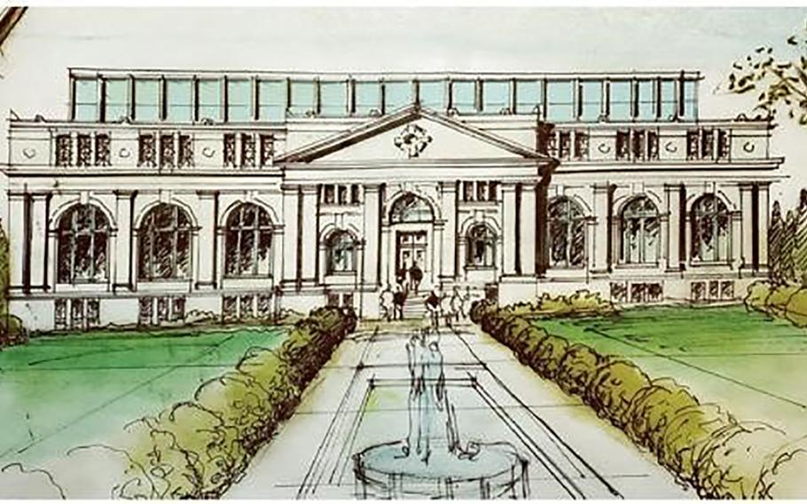 A conceptual plan of the Medal of Honor Museum proposed by the Congressional Medal of Honor Museum Foundation in Mount Pleasant, S.C. Though a final location isn't confirmed, the foundation hopes to build along the Charleston Harbor in an area called Patriots Point.