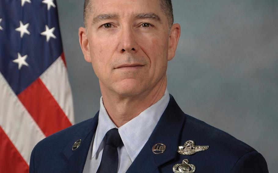 Chief Master Sgt. Roger Towberman was named as the first senior enlisted adviser of the Space Force, Feb. 13, 2020.