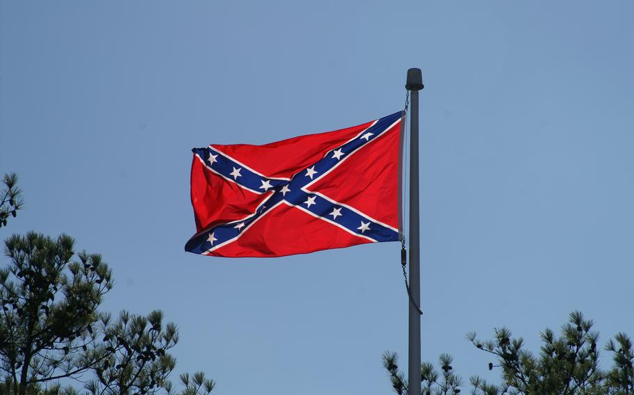 A Confederate flag is shown in this Jan. 31, 2009 file photo.