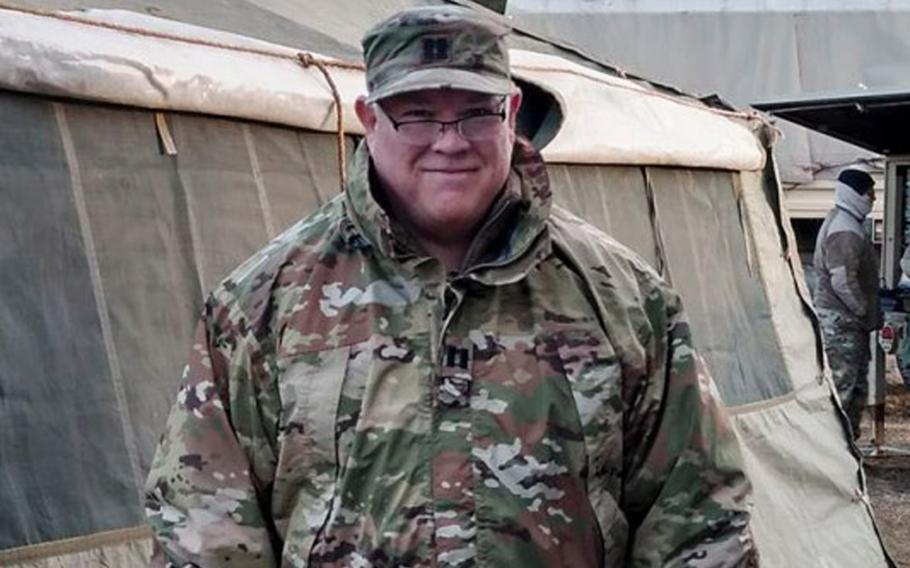 Army Capt. Douglas Linn Hickok was preparing to activate as a physician assistant with the New Jersey National Guard in response to the coronavirus pandemic when the 57-year-old became sick with the virus. He entered a Pennsylvania hospital on March 21 and died Saturday.