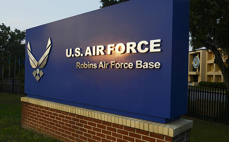 The latest death included in the Defense Department's daily tally of coronavirus cases was that of a defense contractor who worked at Robins Air Force Base.