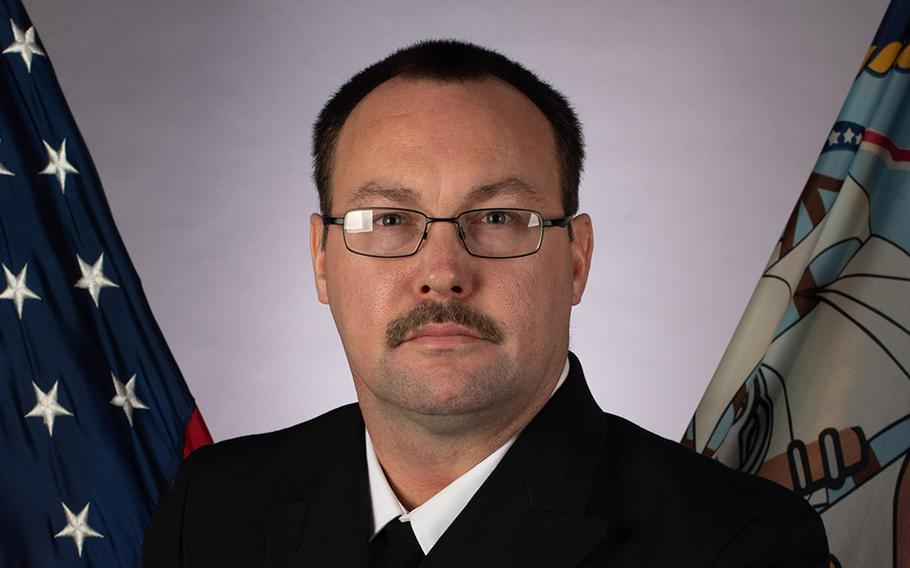 Aviation Ordnanceman Chief Petty Officer Charles Robert Thacker Jr., 41, of Fort Smith, Ark. was the USS Theodore Roosevelt sailor who died from coronavirus complications.