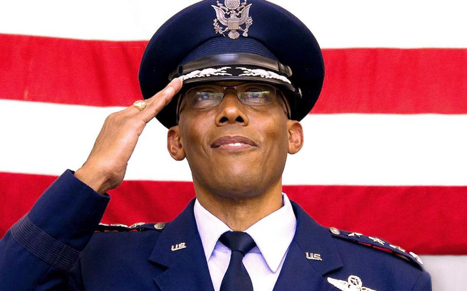 Gen. Charles Q. Brown has been confirmed by the Senate as the next chief of staff of the Air Force. The move clears the way for Brown to become the first black service chief in U.S. military history.