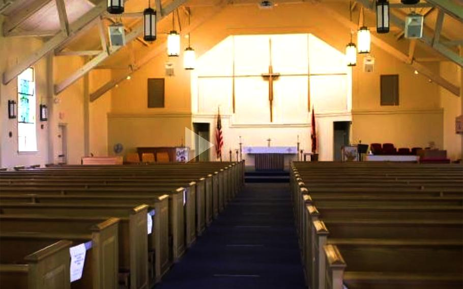 The base chapel at Camp Pendleton, Calif.
