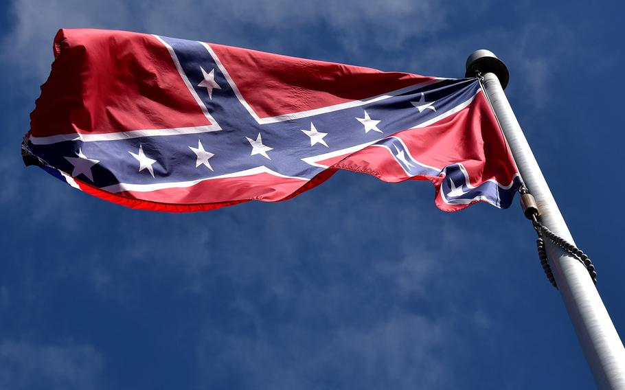 Flags representing the Confederacy are among those effectively banned from military bases under a new DOD policy.